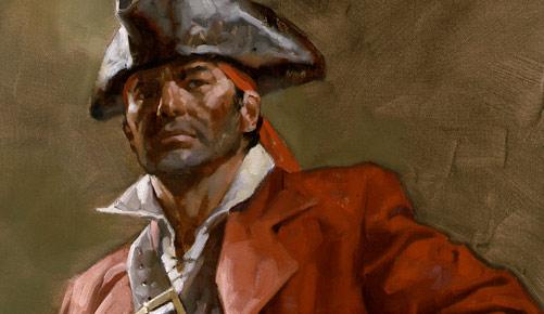 Black Sam Bellamy St Croix Pirate