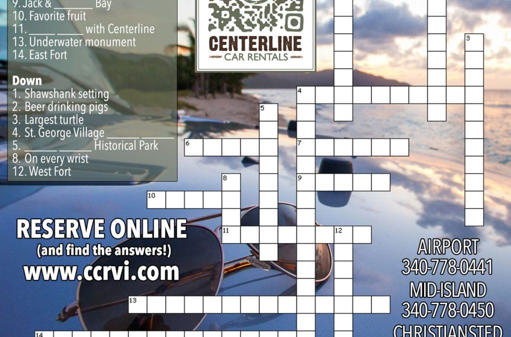 St. Croix This Week Crossword Answers